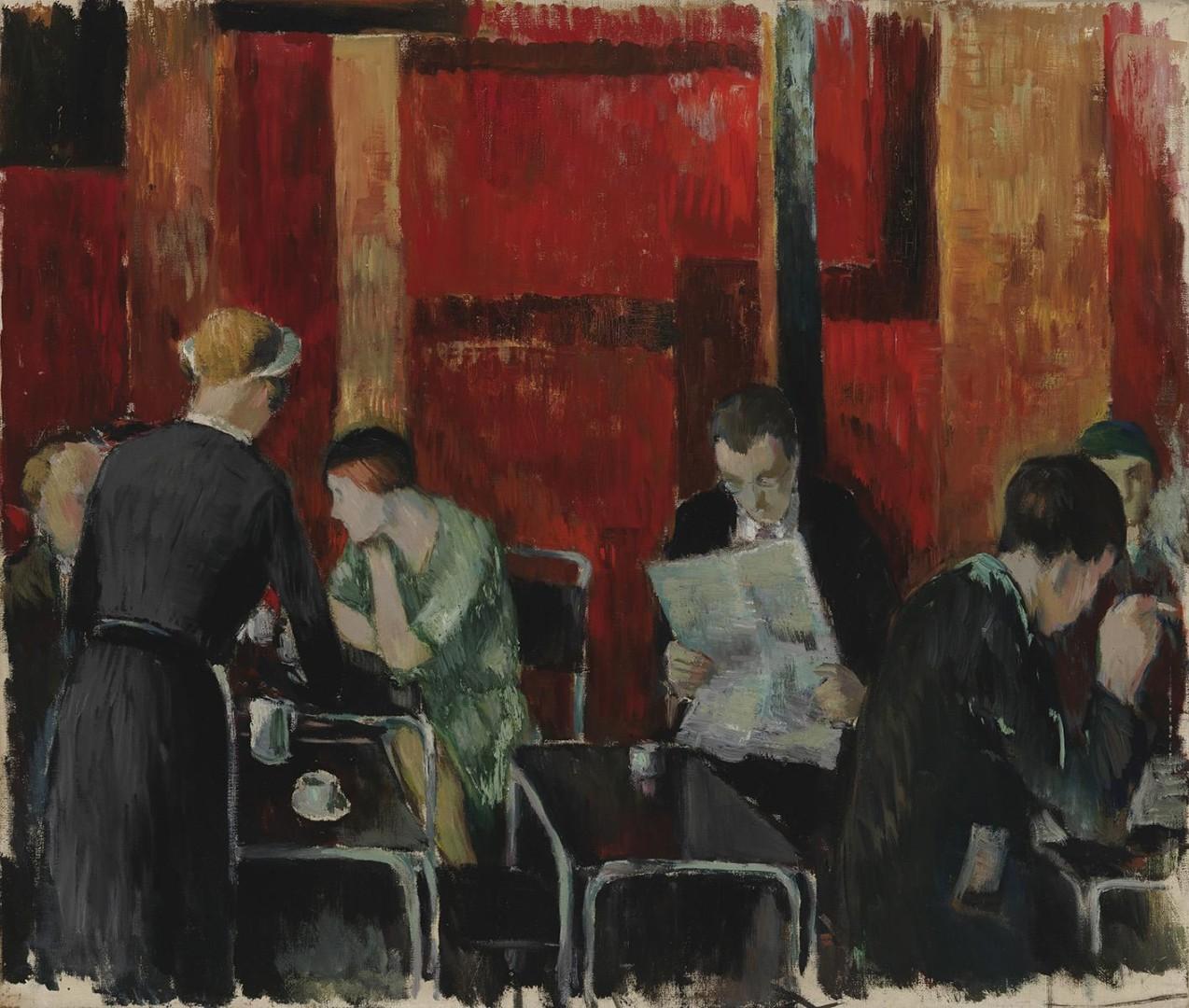 Henry Ericsson: Fazerin baari, 1931. Kansallisgalleria / Ateneumin taidemuseo. Kuva: Kansallisgalleria / Hannu Aaltonen