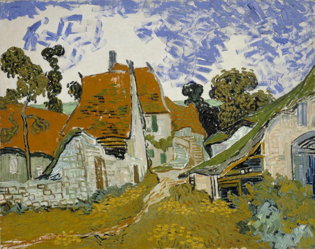 Vincent van Gogh: Katu, Auvers-sur-Oise, 1890. Kansallisgalleria / Ateneumin taidemuseo, kok. Antell. Kuva: Kansallisgalleria / Hannu Aaltonen