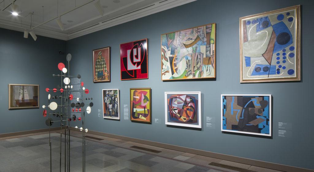 Stories of Finnish Art - Ateneum's collection display. Photo: Finnish National Gallery / Hannu Aaltonen