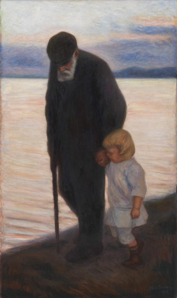 Hugo Simberg: Mot kväll, 1913