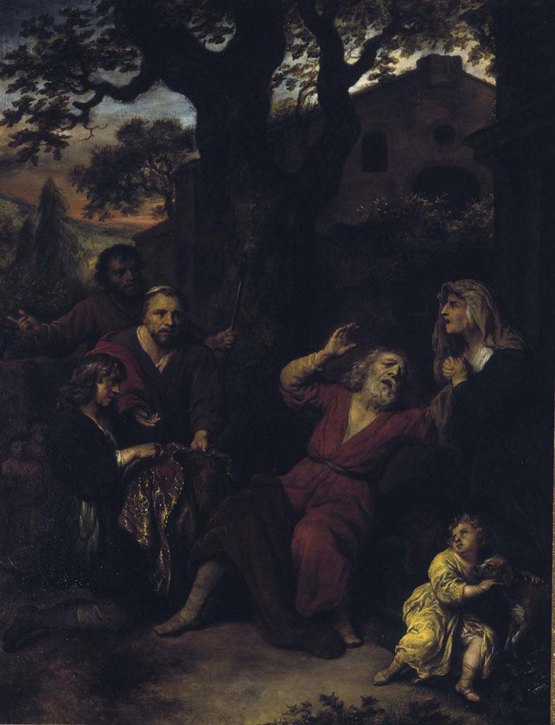 Govaert Flinck: Joosefin verinen viitta, 1655. Kansallisgalleria / Sinebrychoffin taidemuseo, Ateneumin ystävien kokoelma. Kuva: Kansallisgalleria / Matti Janas