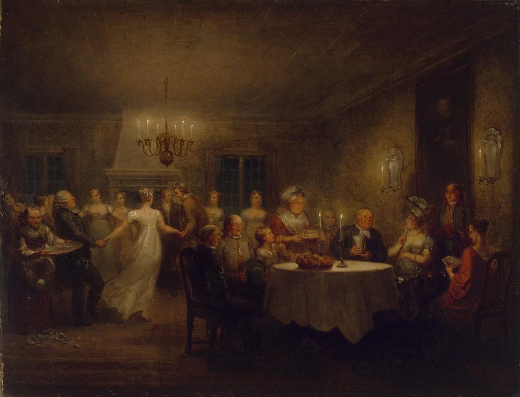 Alexander Lauréus: Pastorin kestit (1815).