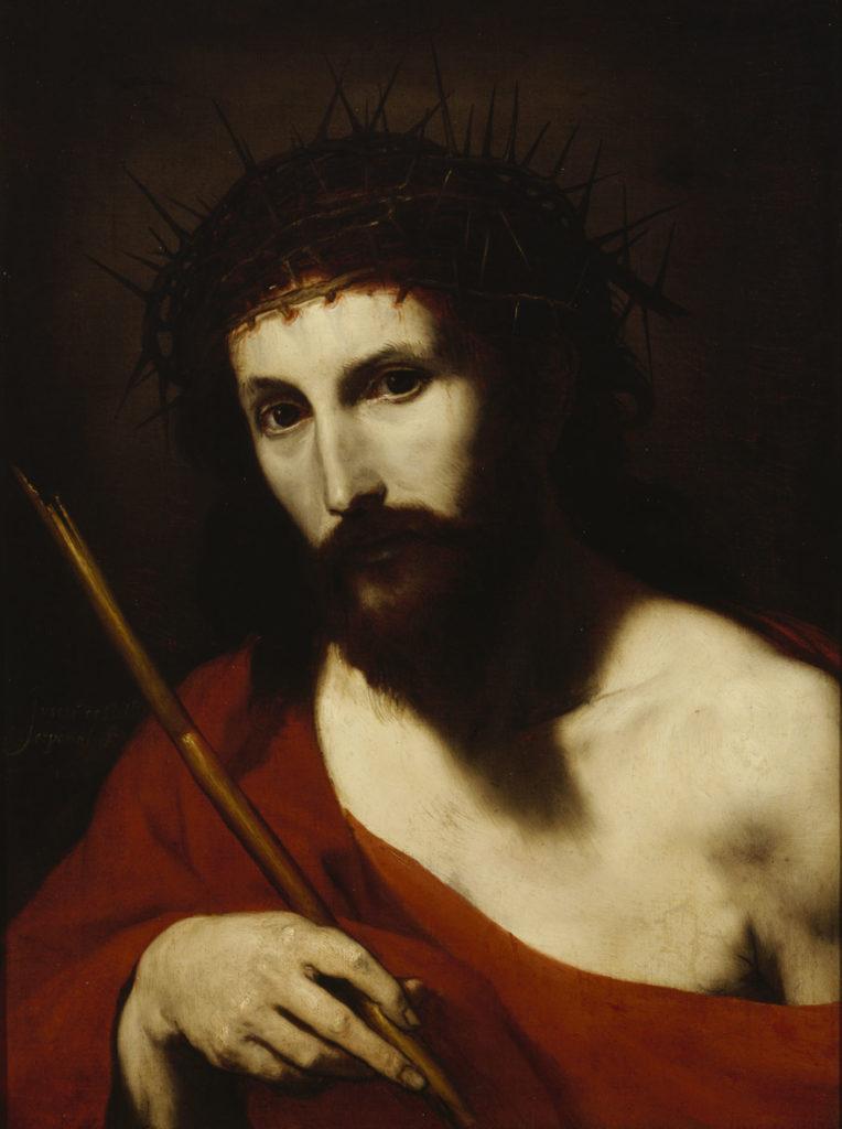 Jusepe de Ribera: Ecce Homo, 1644. Kansallisgalleria / Sinebrychoffin taidemuseo, Ateneumin ystävien kokoelma. Kuva: Kansallisgalleria / Matti Janas
