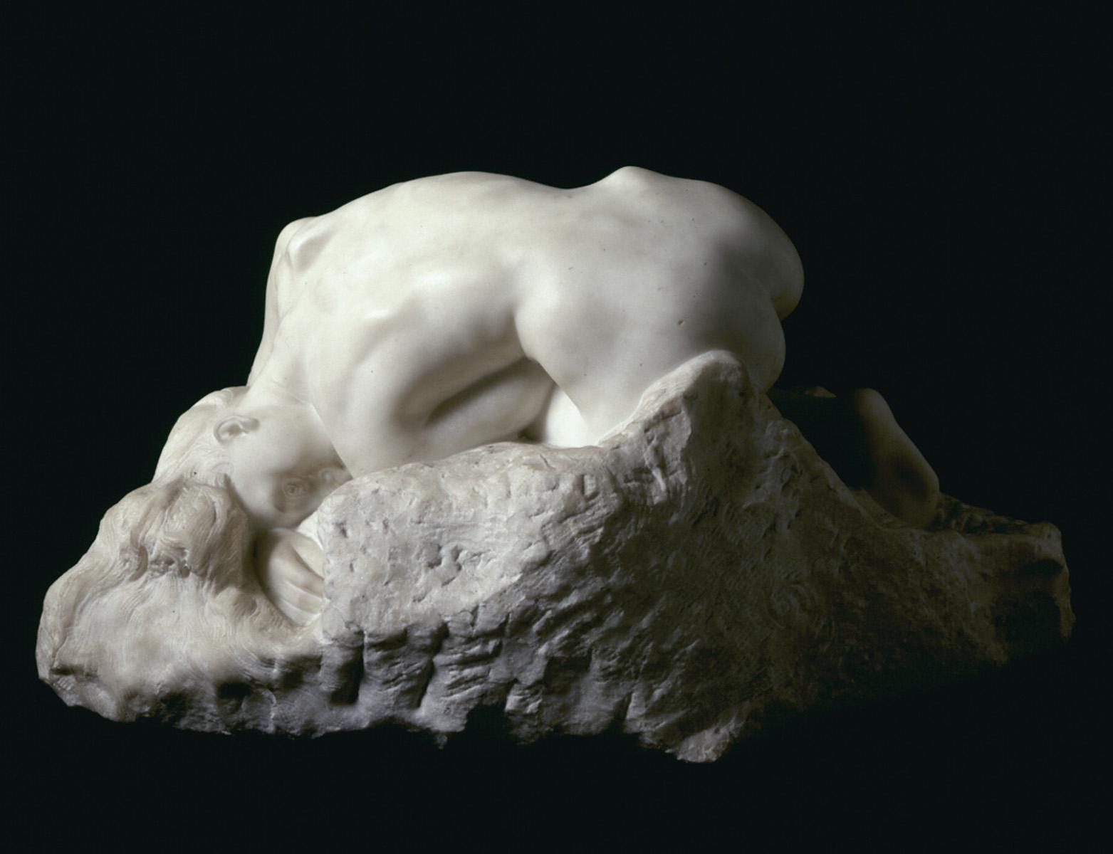 Auguste Rodin: Danaidi, 1885, tämä marmori 1889. Ateneumin taidemuseo. Kuva: Kansallisgalleria / Janne Mäkinen