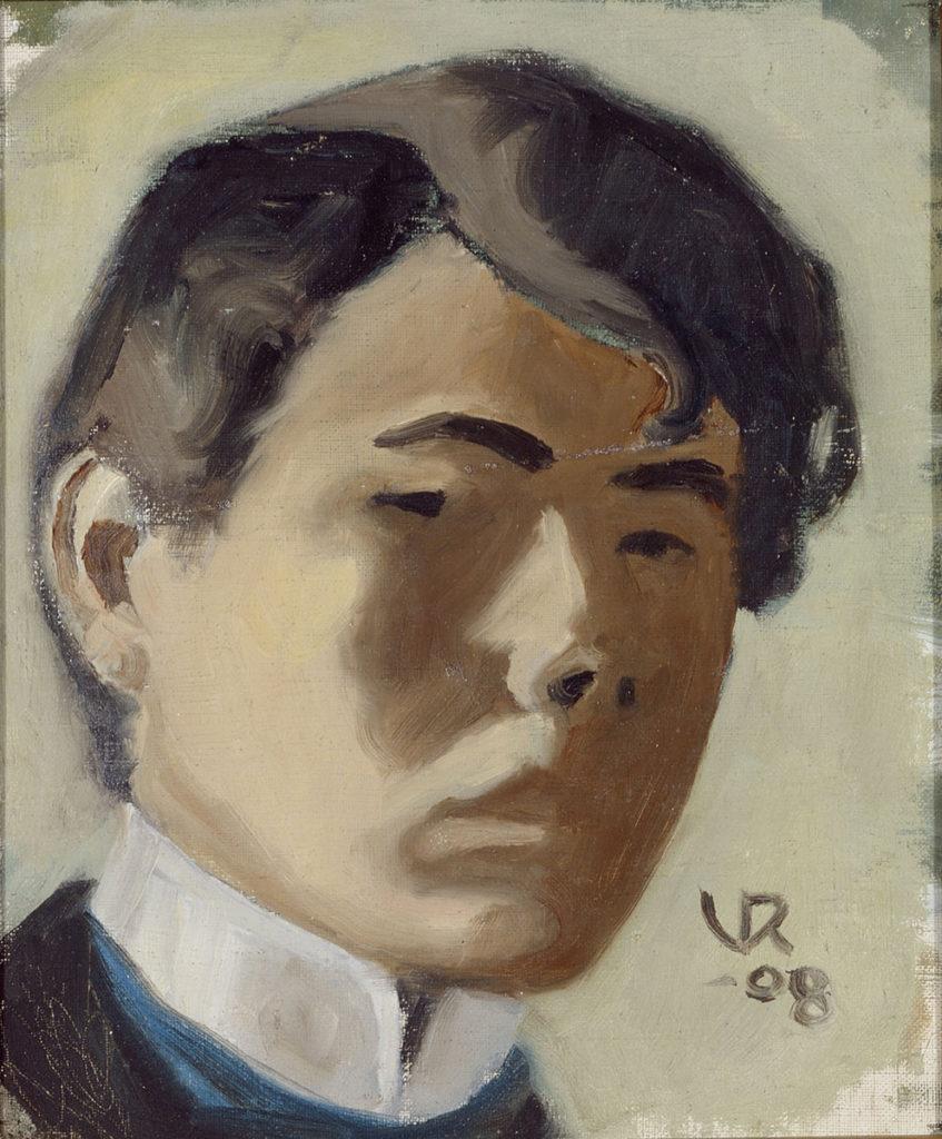 Valle Rosenberg: Omakuva, 1908. Kansallisgalleria / Ateneumin taidemuseo, Ateneumin ystävien kokoelma. Kuva: Kansallisgalleria / Marko Mäkinen