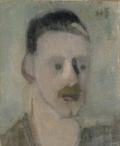 Helene Schjerfbeck: Einar Reuter III, 1919-20. Ateneumin taidemuseo, Ateneumin ystävien kokoelma. © Kuvasto. Kuva: Kansallisgalleria / Janne Mäkinen