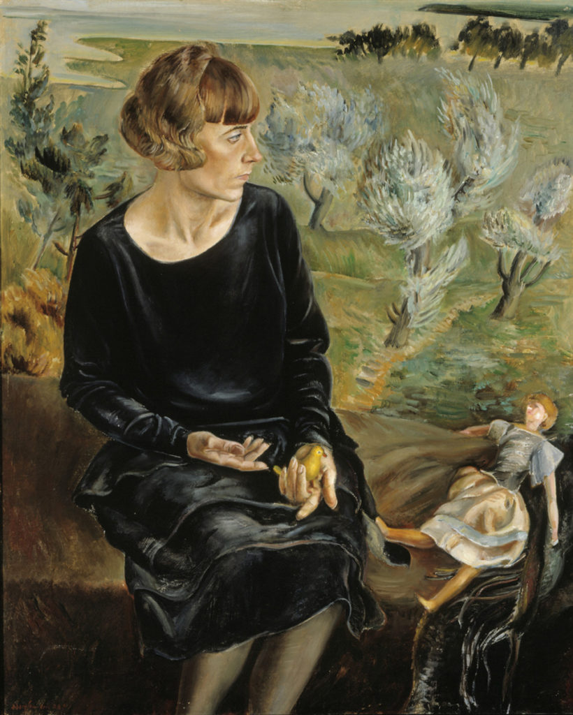 Adamson-Eric: Rouva Siuts Barbaruksen muotokuva, 1928. Kansallisgalleria / Ateneumin taidemuseo. Kuva: Kansallisgalleria / Marko Mäkinen