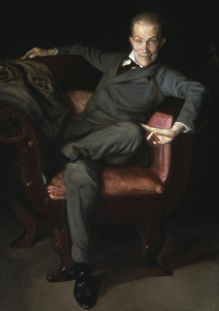 Antti Favén: Taiteilija Fahle Basilier, 1908. Kansallisgalleria / Ateneumin taidemuseo, kok. Ahlström. Kuva: Kansallisgalleria / Antti Kuivalainen