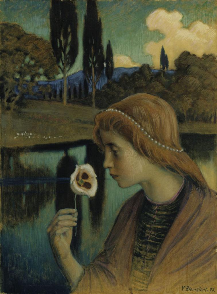Väinö Blomstedt: Francesca, 1897. Kansallisgalleria / Ateneumin taidemuseo, kok. Antell. Kuva: Kansallisgalleria / Hannu Aaltonen