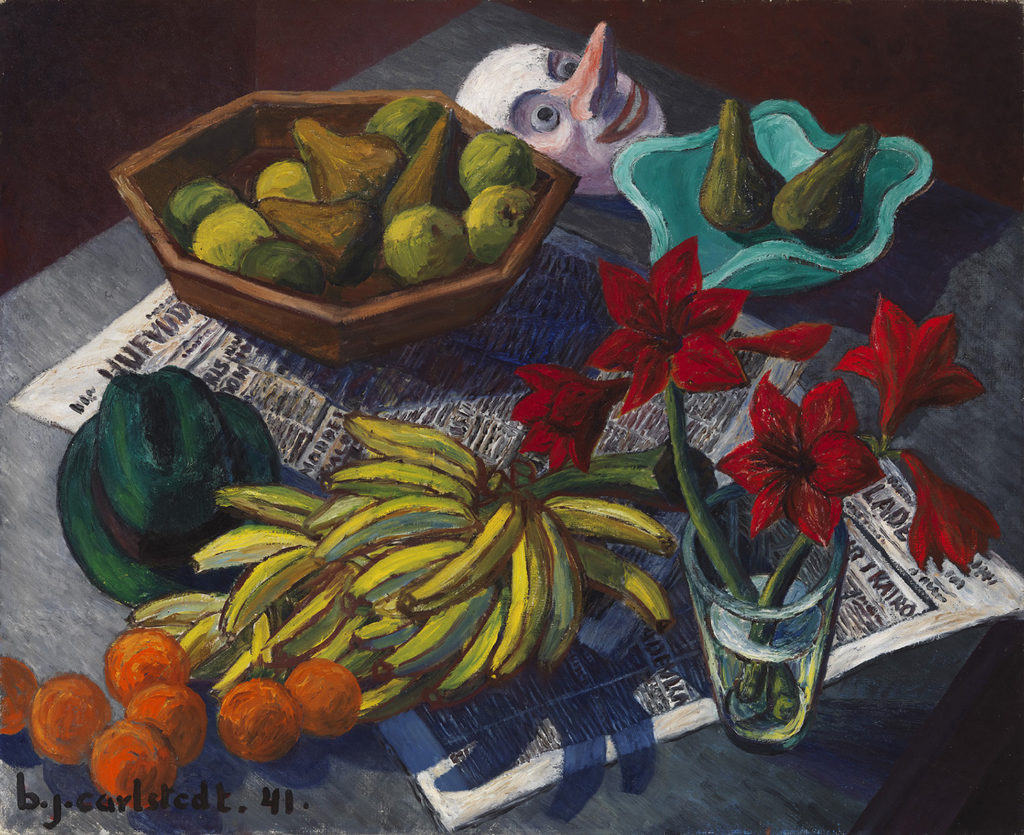 Birger Carlstedt: Still Life, 1941. Ateneum Art Museum. Photo: Finnish National Gallery / Yehia Eweis