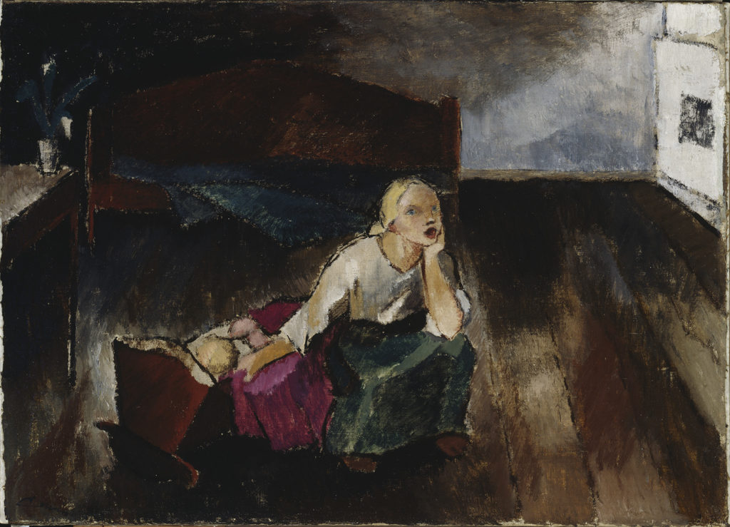 Alvar Cawén: Lullaby, 1921. Ateneum Art Museum, coll. Kordelin. Photo: Finnish National Gallery / Jukka Romu