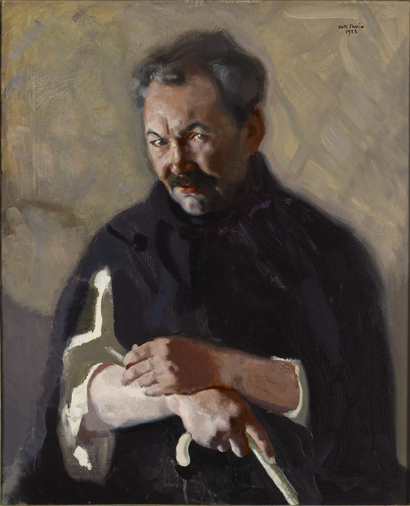 Antti Favén: Portrait of Eino Leino, 1922. Ateneum Art Museum, coll. Antell. Photo: Finnish National Gallery / Henri Tuomi