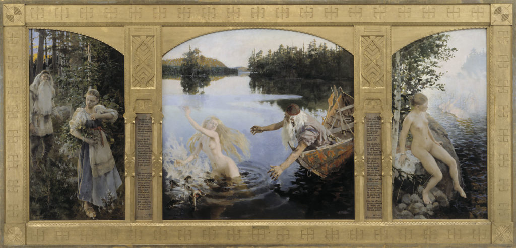 Akseli Gallen-Kallela: Aino-taru, 1891. Kansallisgalleria / Ateneumin taidemuseo. Kuva: Kansallisgalleria / Hannu Aaltonen