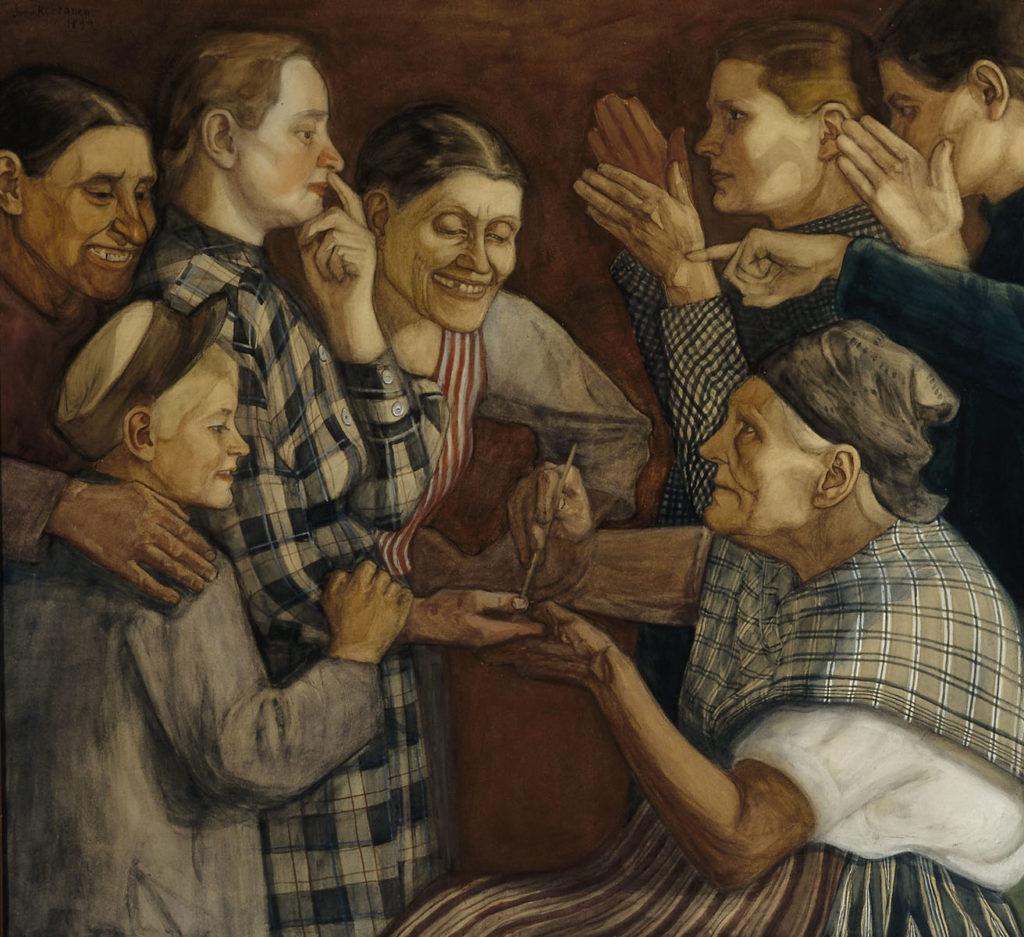 Juho Rissanen: Povarissa, 1899. Kansallisgalleria / Ateneumin taidemuseo, kok. Hoving. Kuva: Kansallisgalleria / Kari Soinio