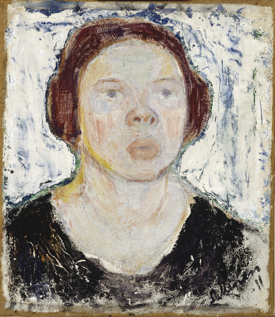 Tyko Sallinen: Mirri in Black, 1911. Finnish National Gallery / Ateneum Art Museum. Photo: Finnish National Gallery / Jukka Romu