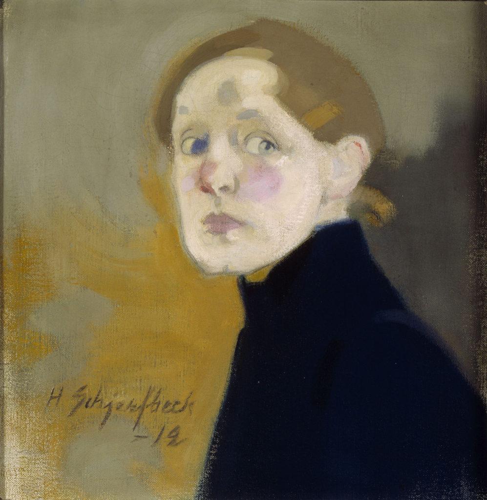 Helene Schjerfbeck: Omakuva, 1912. Kansallisgalleria / Ateneumin taidemuseo, kok. Kaunisto. Kuva: Kansallisgalleria / Hannu Aaltonen