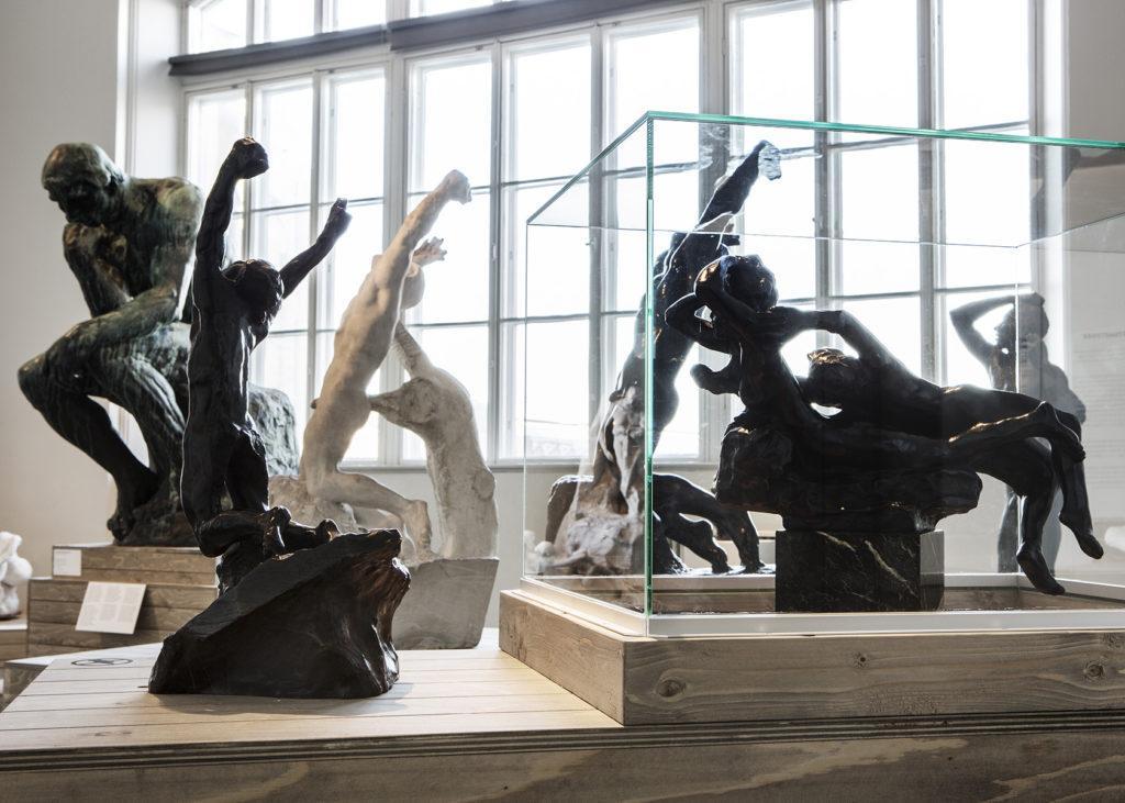 Auguste Rodin -näyttely. Kuva: Kansallisgalleria / Jenni Nurminen
