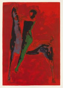 Marino Marini: Den stora ryttaren, 1978. Konstmuseet Ateneum, saml. Rolando & Siv Pieraccini. Bild: Finlands Nationalgalleri / Yehia Eweis