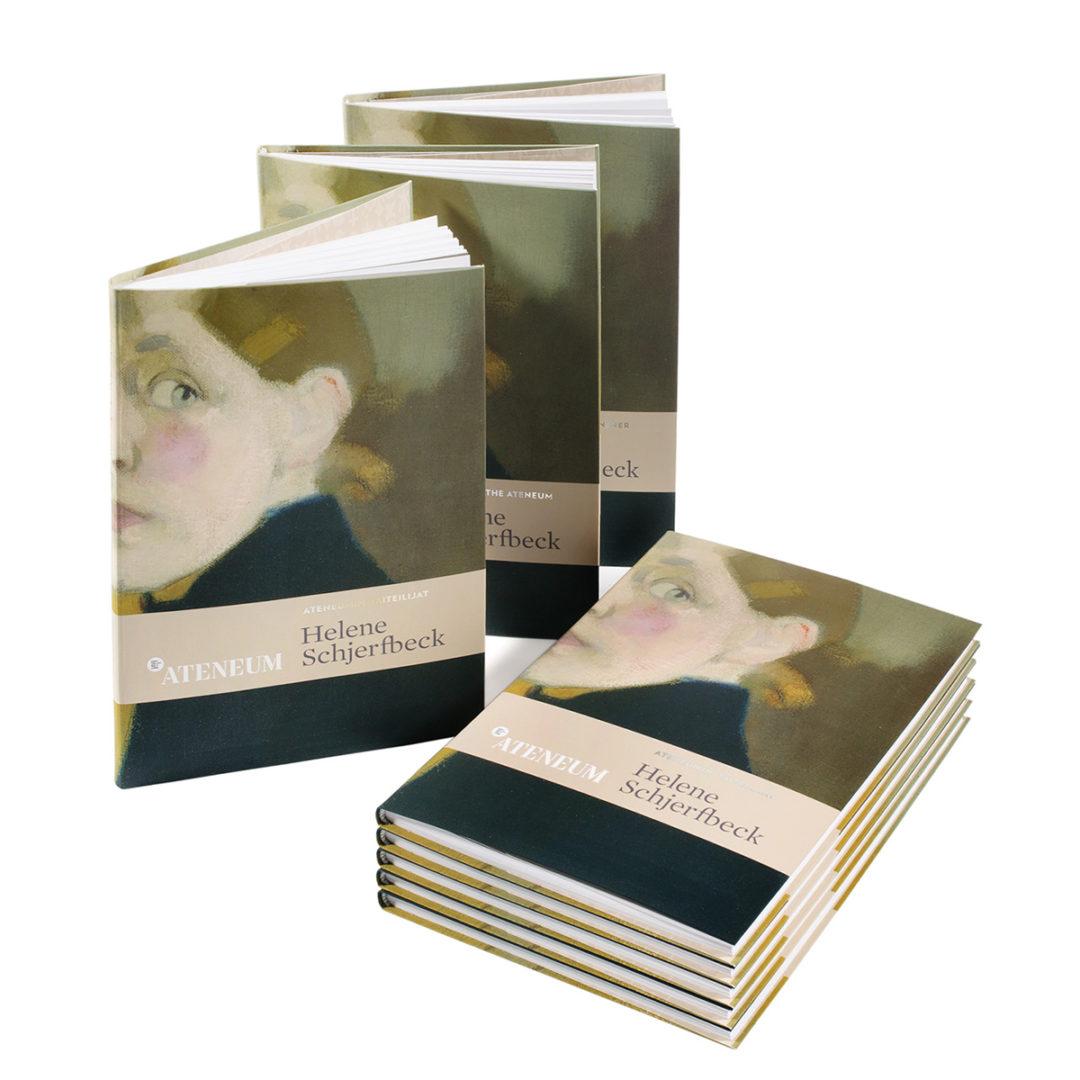 Helene Schjerfbeck -kirjat. Kuva: Kansallisgalleria
