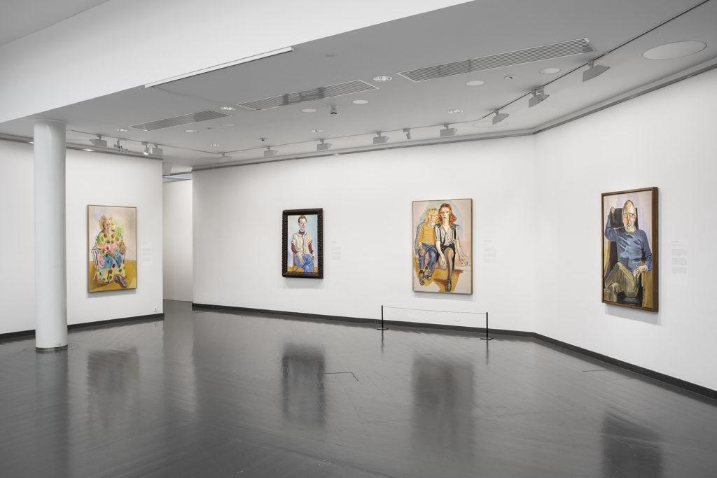 Alice Neel - modernin elämän maalari -näyttely. Kuva: Kansallisgalleria / Jenni Nurminen