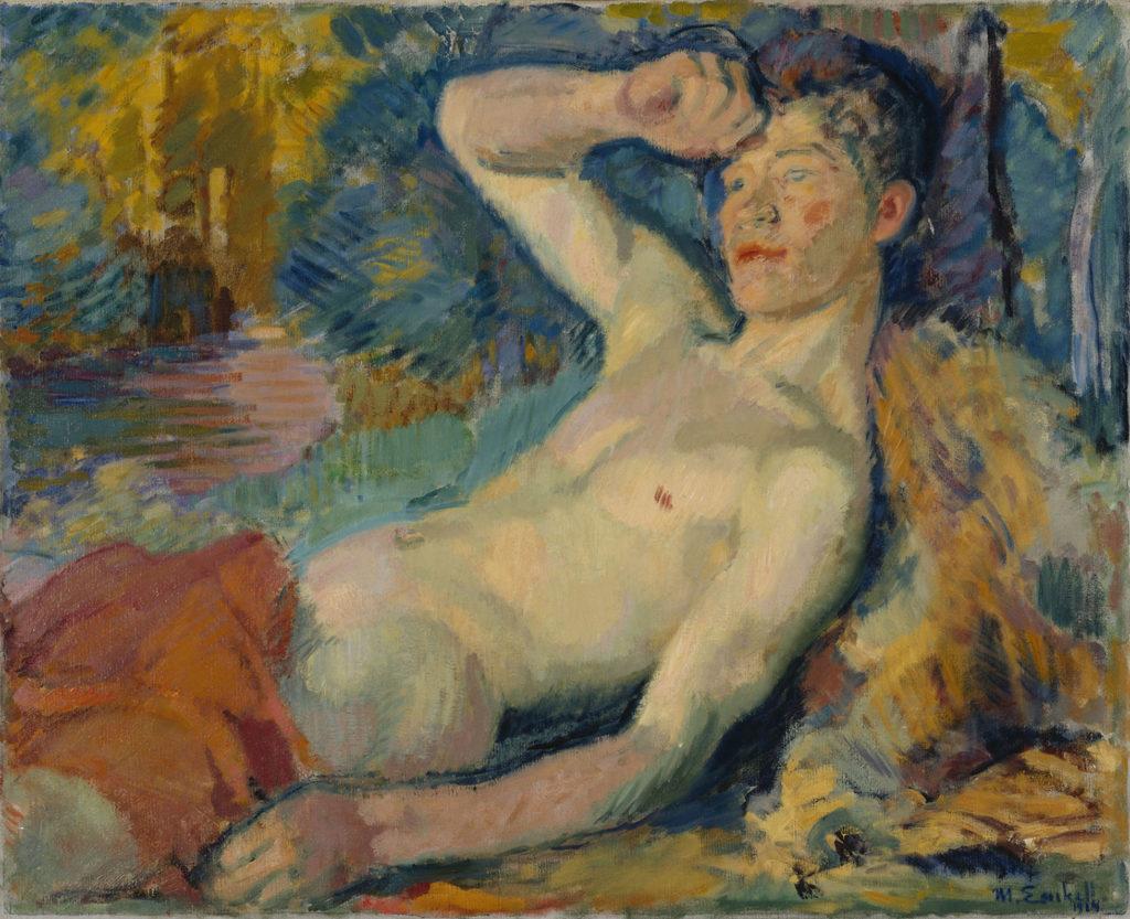 Magnus Enckell: Awakening Faun, 1914. Finnish National Gallery / Ateneum Art Museum, coll. Hoving. Photo: Finnish National Gallery / Janne Tuominen