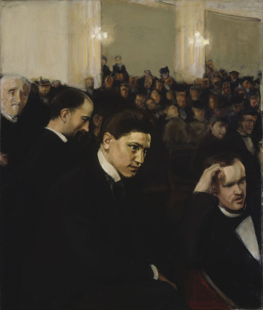 Magnus Enckell: The Concert, 1898. Finnish National Gallery / Ateneum Art Museum, coll. Hoving. Photo: Finnish National Gallery / Jukka Romu