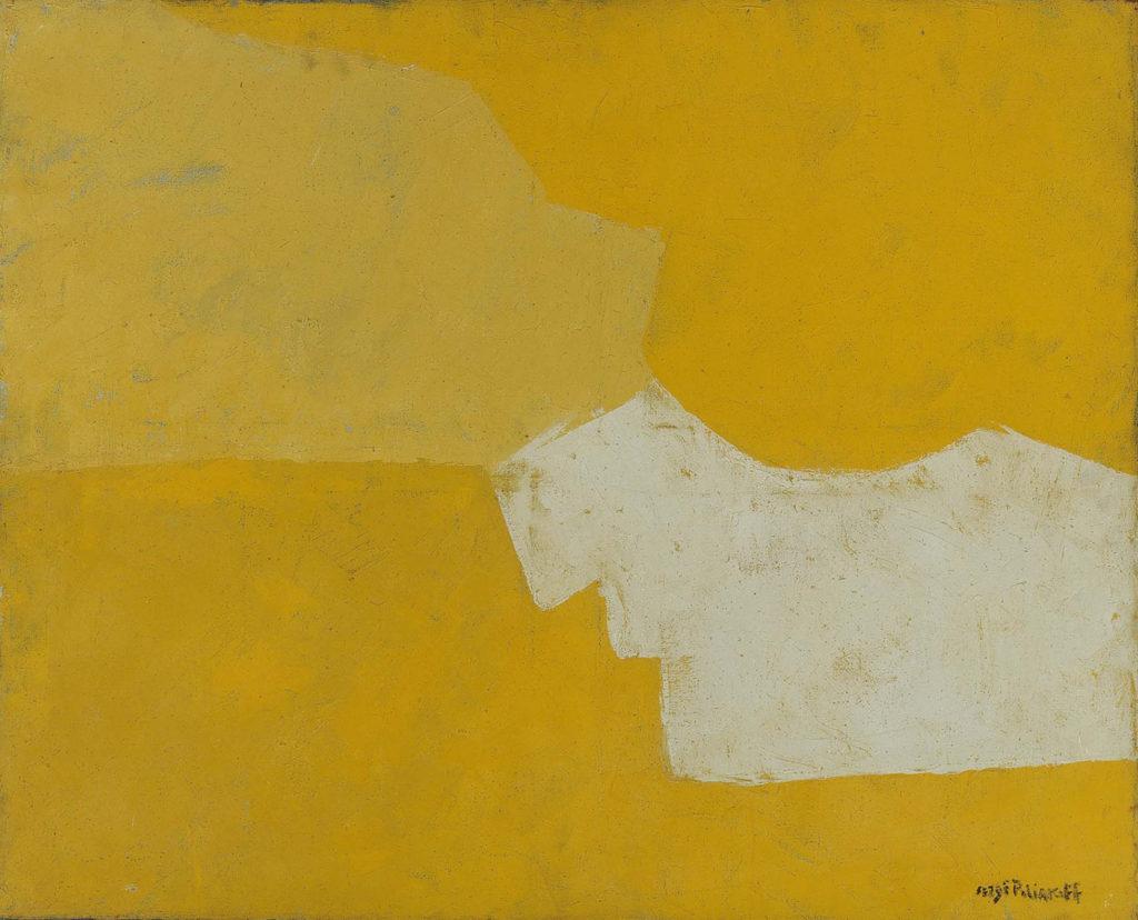 Serge Poliakoff: Kompositio, 1950–1959. Kansallisgalleria / Ateneumin taidemuseo. Kuva: Kansallisgalleria / Janne Mäkinen