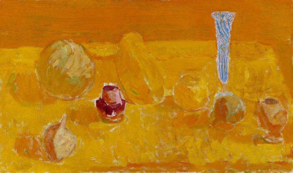 Rafael Wardi: Asetelma, 1959. Kansallisgalleria / Ateneumin taidemuseo. Kuva: Kansallisgalleria / Hannu Aaltonen