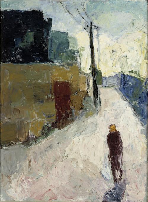 Elga Sesemann: Katu, 1945. Kansallisgalleria / Ateneumin taidemuseo. Kuva: Kansallisgalleria / Hannu Karjalainen