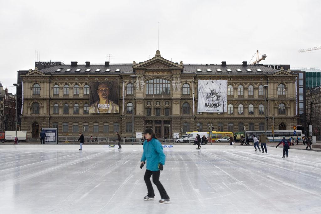 Pekka Halonen -näyttely. Kuva: Kansallisgalleria / Hannu Pakarinen
