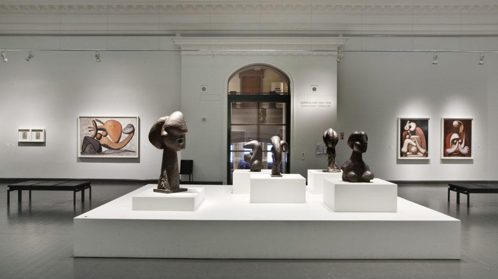 Pablo Picasso – Mestariteoksia Pariisin Picasso-museosta -näyttely. Kuva: Kansallisgalleria / Jenni Nurminen