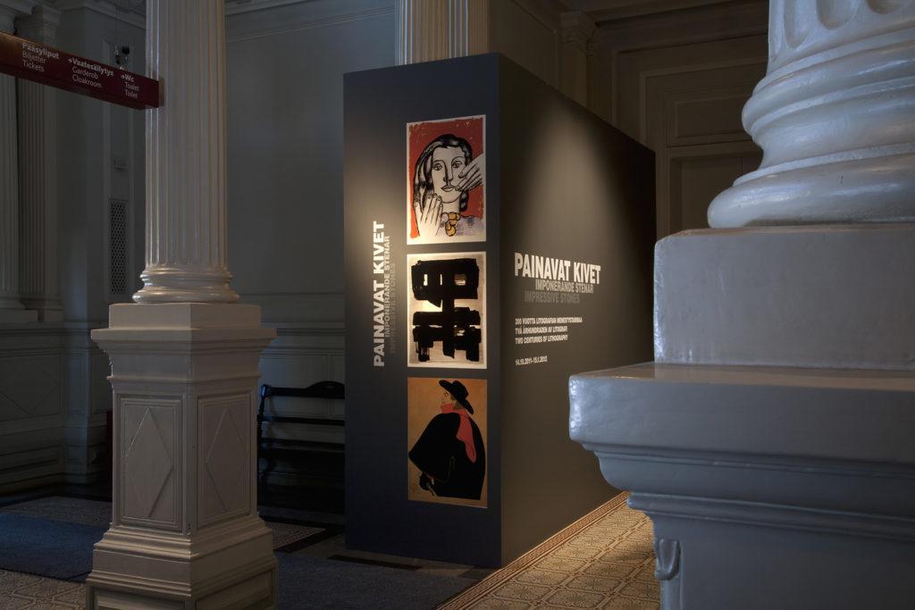 Painavat kivet -näyttely. Kuva: Kansallisgalleria / Hannu Pakarinen