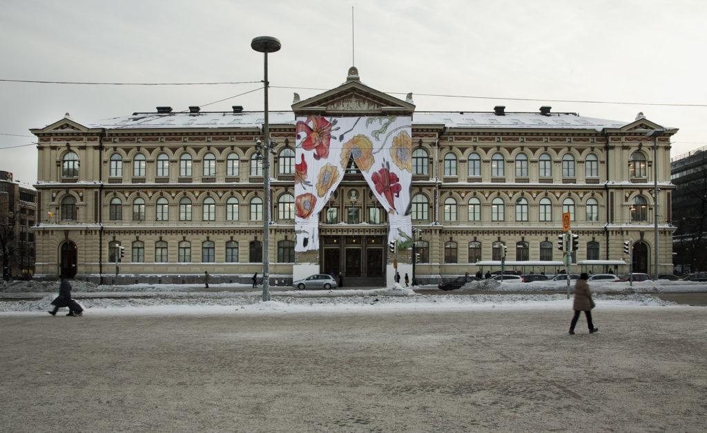 Carl Larsson -näyttely. Kuva: Kansallisgalleria / Hannu Pakarinen