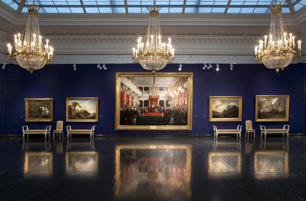 Linnan aarteet -näyttely. Kuva: Kansallisgalleria / Hannu Pakarinen