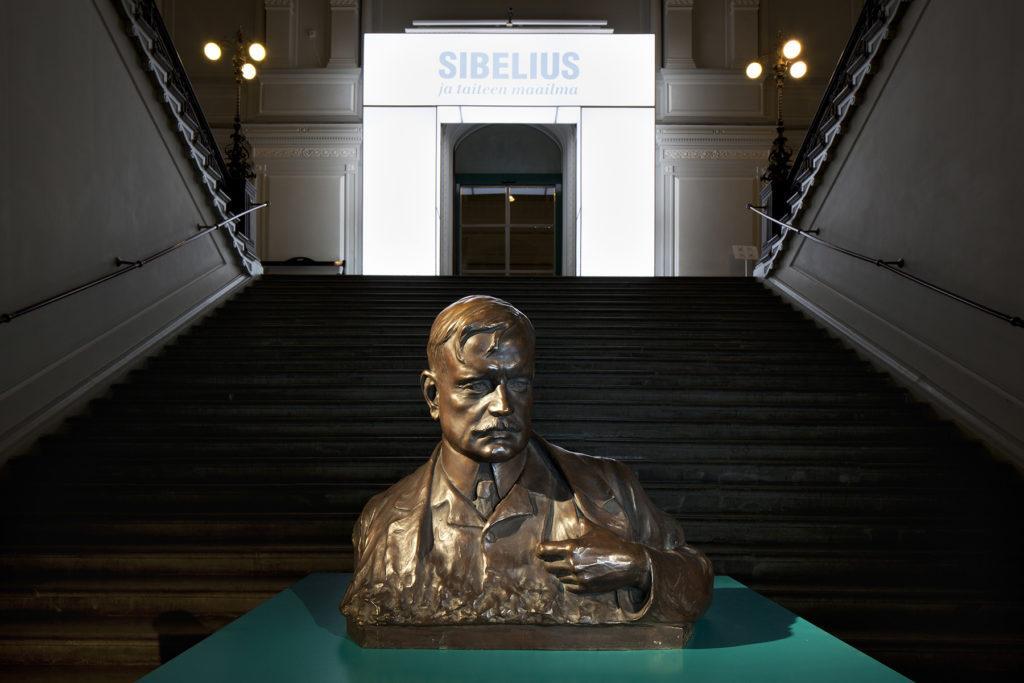 Sibelius ja taiteen maailma. Kuva: Kansallisgalleria / Hannu Pakarinen