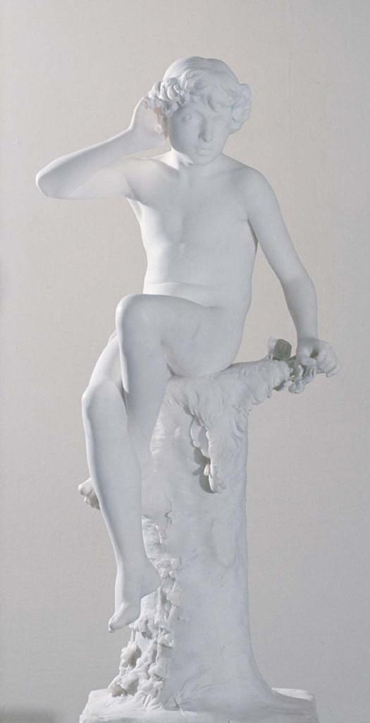Ville Vallgren: Kaiku, 1887. Kansallisgalleria / Ateneumin taidemuseo. Kuva: Kansallisgalleria / Pirje Mykkänen