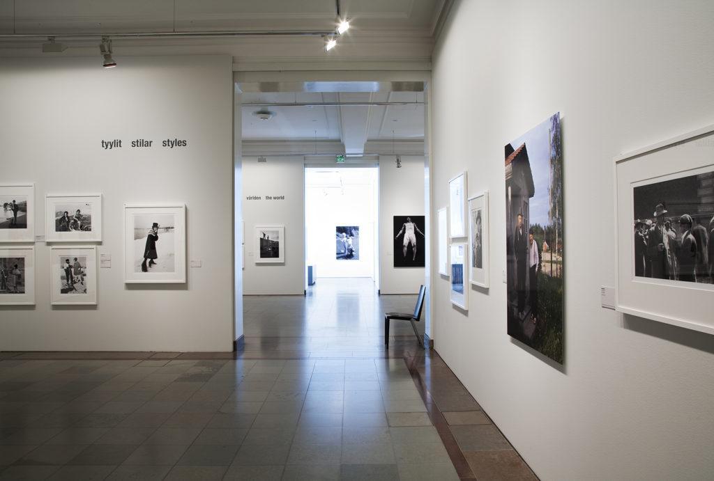 Valokuvaaja Caj Bremer -näyttely. Kuva: Kansallisgalleria / Kirsi Halkola
