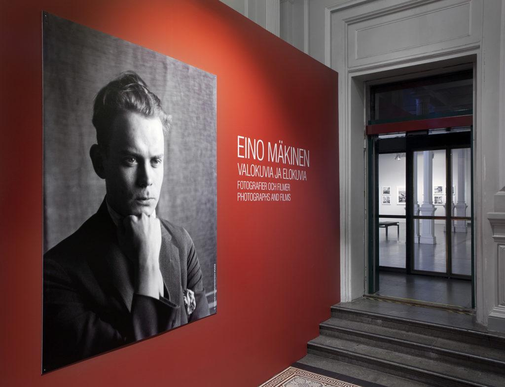 Eino Mäkinen – Valokuvia ja elokuvia -näyttely. Kuva: Kansallisgalleria / Hannu Pakarinen