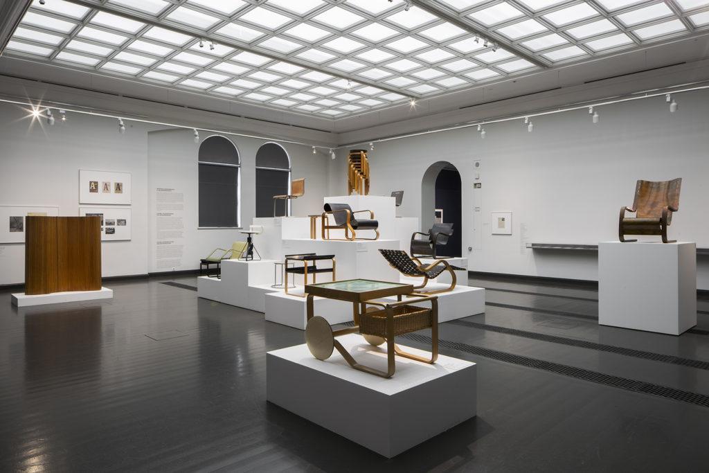 Alvar Aalto – taide ja moderni muoto -näyttely. Kuva: Kansallisgalleria / Hannu Pakarinen