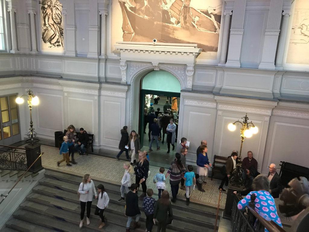 Ateneum 6.12.2017. Bild: Finlands Nationalgalleri / Johanna Eiramo