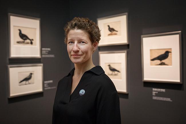 Korkeasaaren johtaja Sanna Hellström. Kuva: Kansallisgalleria / Jenni Nurminen