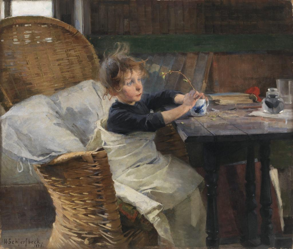 Helene Schjerfbeck: The Convalescent (1888)
