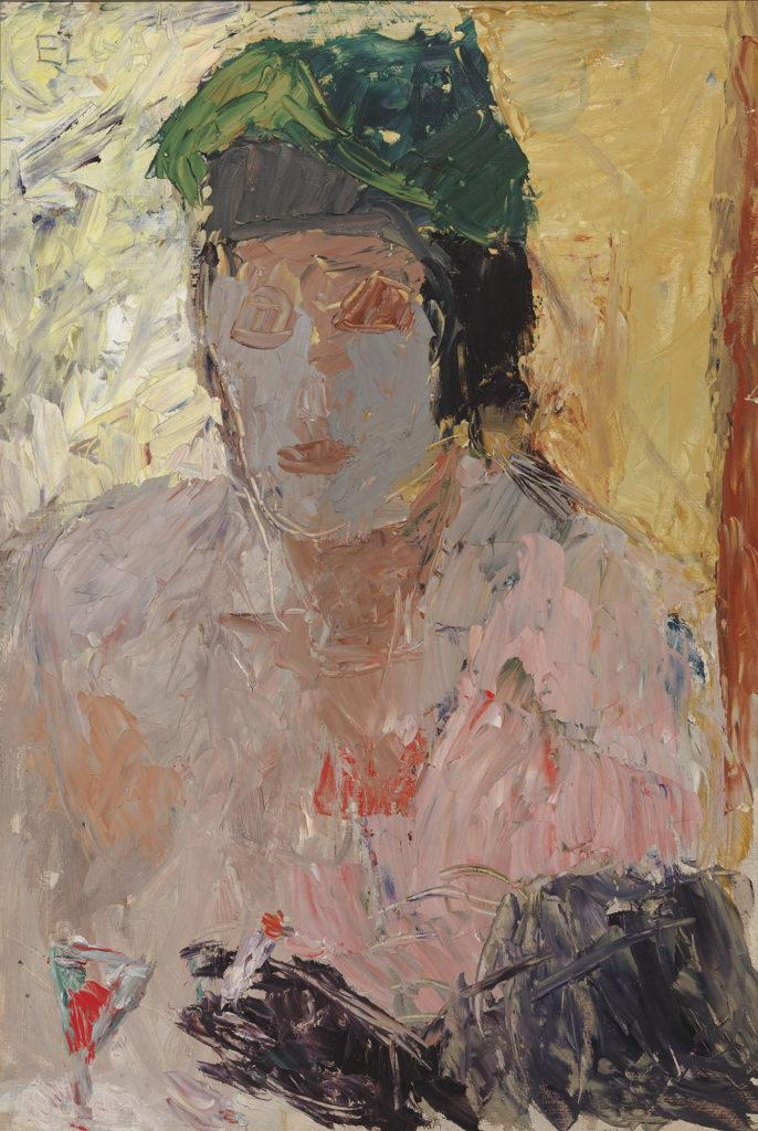 Elga Sesemann: Kahvilassa, 1945.