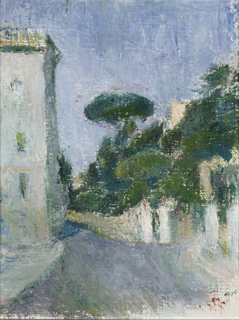 Sigrid Schauman: Italian Landscape, 1930s