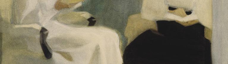 Helene Schjerfbeck: Lukevat tytöt (1907).