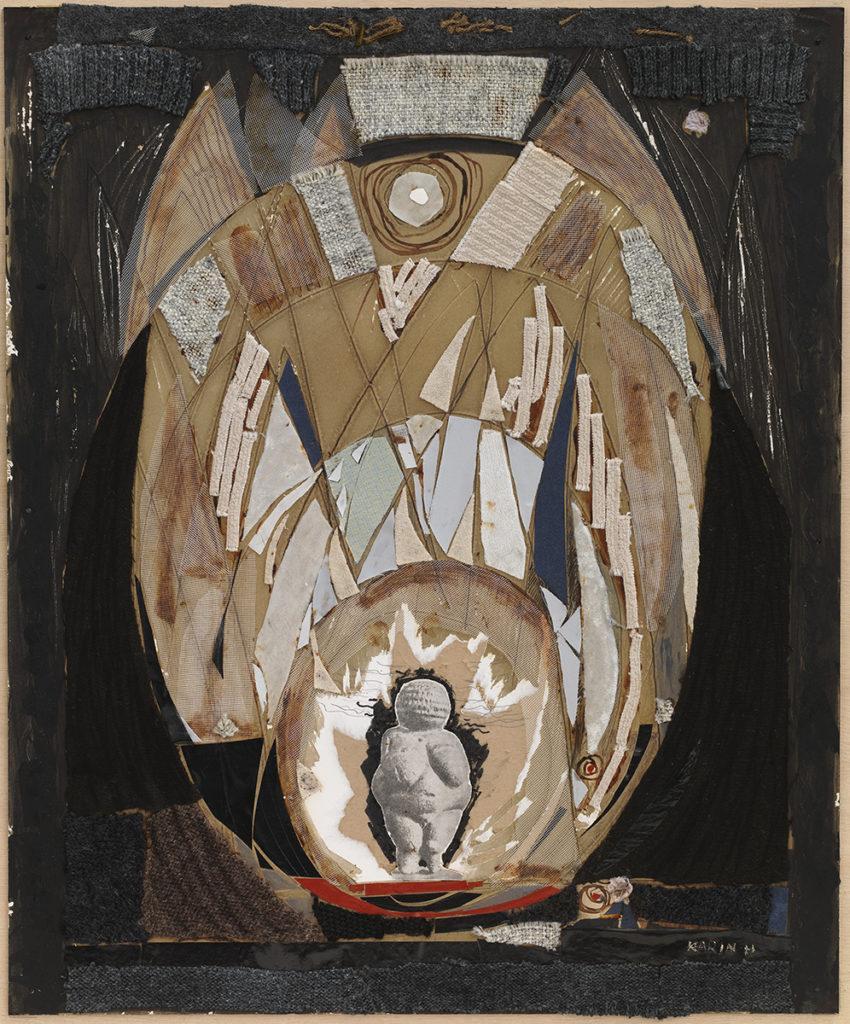 teoskuva: Karin Hellman Willendorfin Venus II (1969).