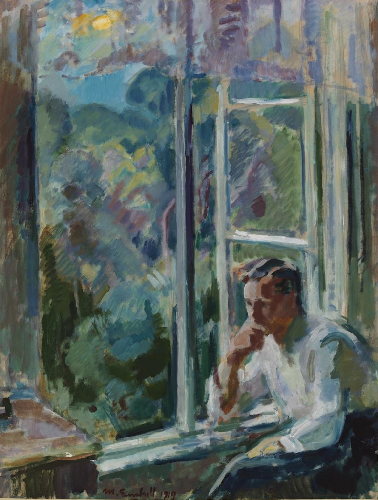 Magnus Enckell: Ikkunan ääressä (1919)
