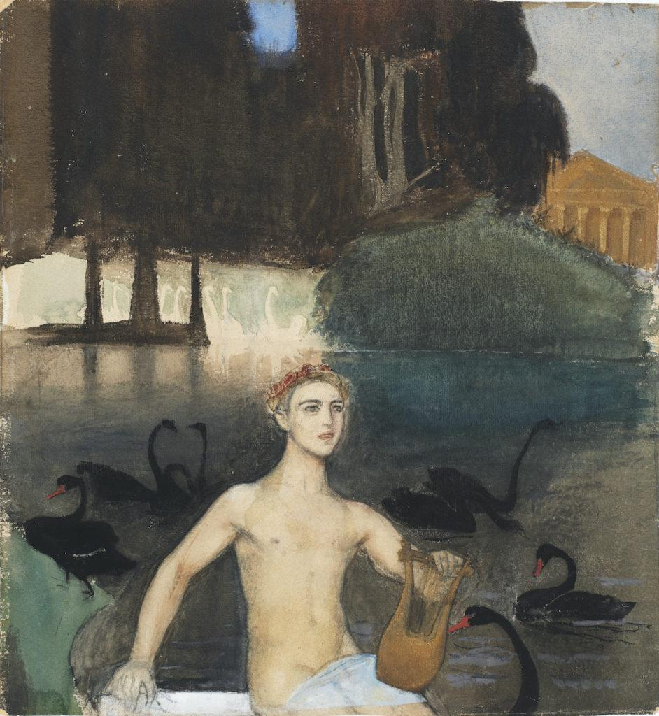 Magnus Enckell: Fantasia (1895).