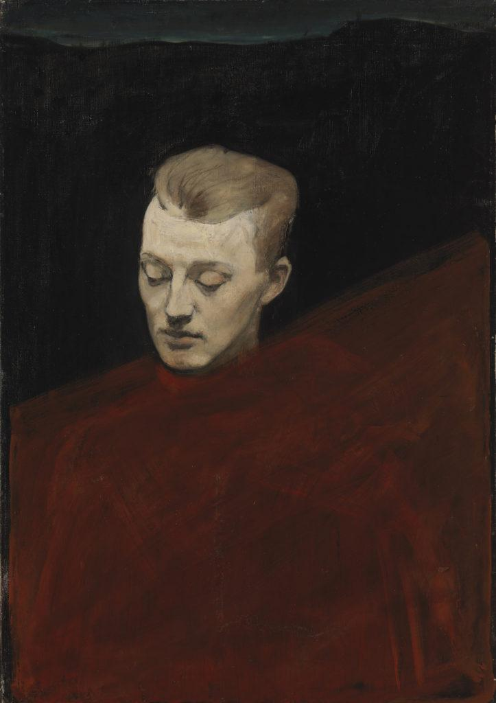 Magnus Enckell: Pää (Bruno Aspelin) (1894). Kansallisgalleria / Ateneumin taidemuseo. Kuva: Kansallisgalleria / Hannu Pakarinen.