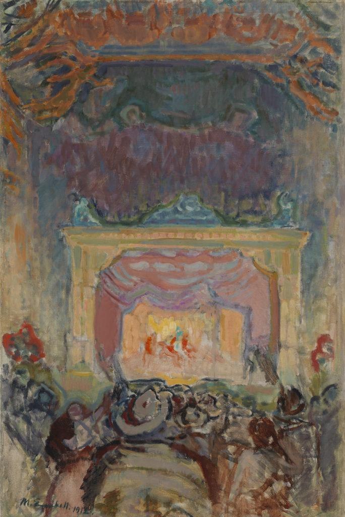 Magnus Enckell: The Variety Theatre in Paris (1912). Finnish National Gallery / Ateneum Art Museum. Photo: Finnish National Gallery / Hannu Pakarinen.